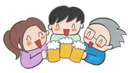 宴会(笑顔)